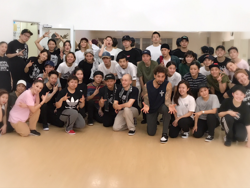 Partydance Workshop, Osaka